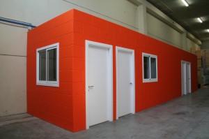 Zona de personal para la fábrica de Enerblock